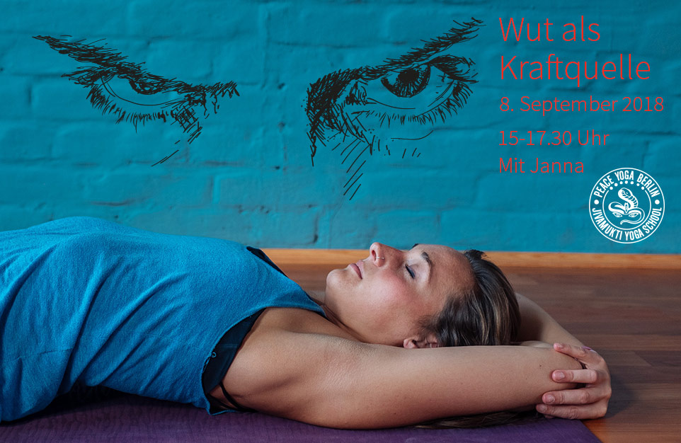 Wut als Kraftquelle, Yoga Workshop