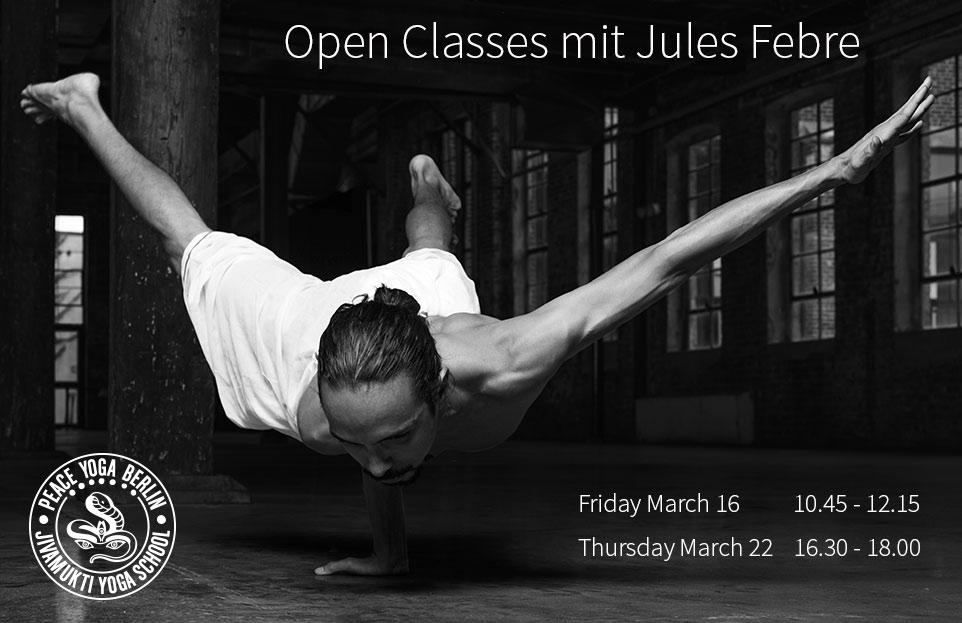 Open Classes mit Jules Febre