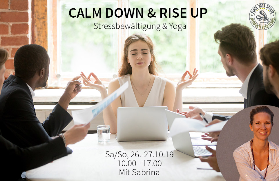 Yoga und Stress Workshop Berlin
